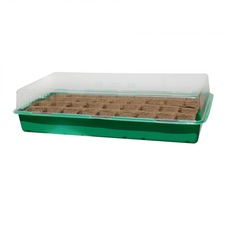 Mini-serre de culture et semis avec 36 godets biodégradable Nortene GROWING KIT
